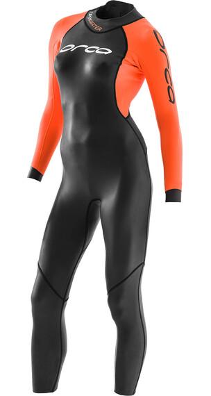 ORCA Openwater Core triathlon kleding oranje/zwart